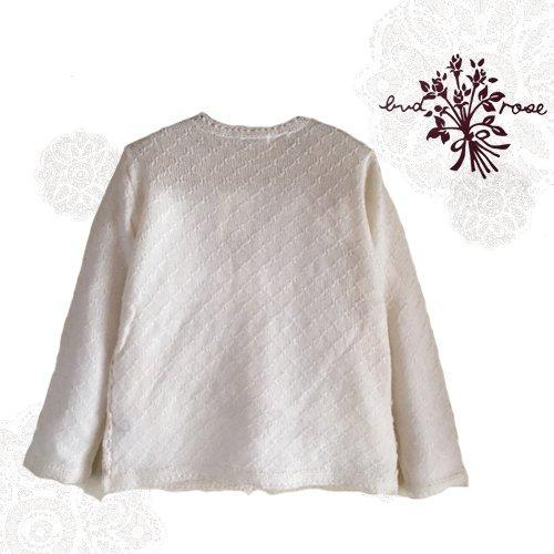 Maglia bud rose(マーリア バドローズ) モヘアカーディガン ホワイトの商品写真2