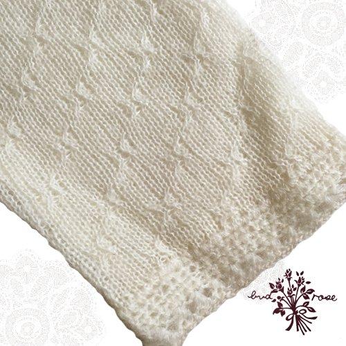 Maglia bud rose(マーリア バドローズ) モヘアカーディガン ホワイトの商品写真6