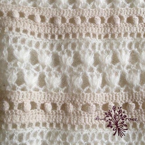 Maglia bud rose(マーリア バドローズ) モヘアカーディガン ホワイトの商品写真7