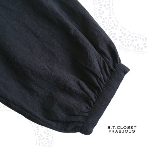 s.t.c marche(エスティークローゼット マルシェ)サイド切り替えブラウスの商品写真6