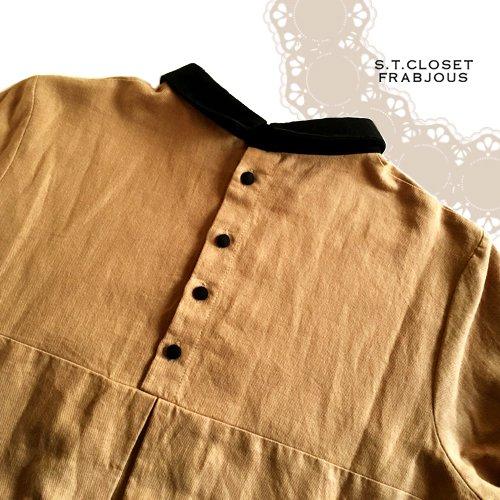 s.t.closet frabjous(エスティークローゼットフラビシャス) クレリック襟付きブラウスの商品写真5