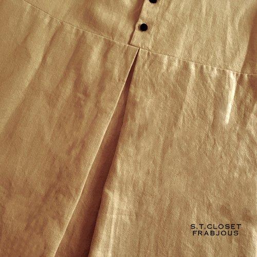 s.t.closet frabjous(エスティークローゼットフラビシャス) クレリック襟付きブラウスの商品写真6