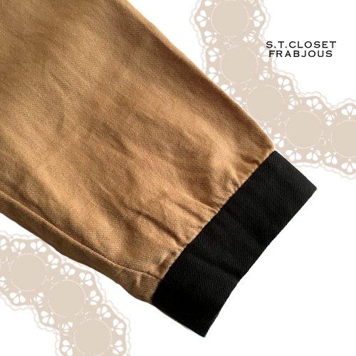 s.t.closet frabjous(エスティークローゼットフラビシャス) クレリック襟付きブラウスの商品写真7
