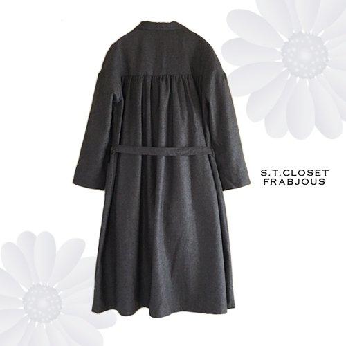 s.t.c marche(エスティークローゼットマルシェ) グレース刺繍コートワンピースの商品写真2