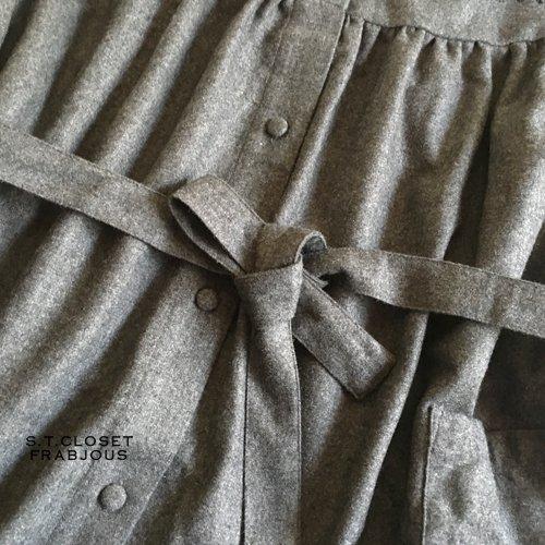 s.t.c marche(エスティークローゼットマルシェ) グレース刺繍コートワンピースの商品写真11