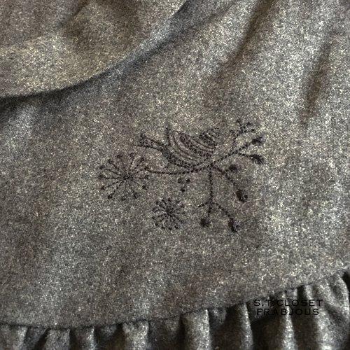 s.t.c marche(エスティークローゼットマルシェ) グレース刺繍コートワンピースの商品写真7