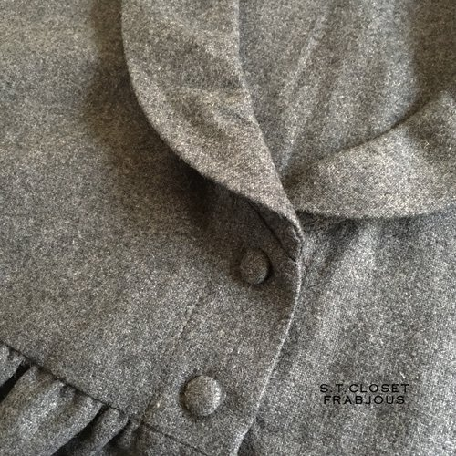 s.t.c marche(エスティークローゼットマルシェ) グレース刺繍コートワンピースの商品写真8