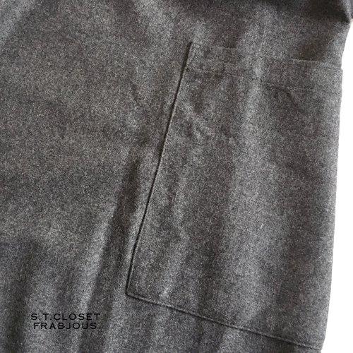 s.t.c marche(エスティークローゼットマルシェ) グレース刺繍コートワンピースの商品写真9