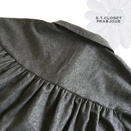 s.t.c marche(エスティークローゼットマルシェ) グレース刺繍コートワンピースの商品写真10