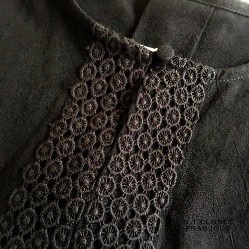 s.t.closet frabjous(エスティークローゼットフラビシャス) シトロンレースワンピースの商品写真5