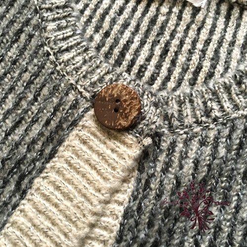 Maglia bud rose(マーリア バドローズ) ストライプワンボタンカーディガンの商品写真5