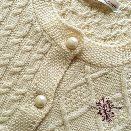 Maglia bud rose(マーリア バドローズ) 模様編みカーディガンの商品写真5