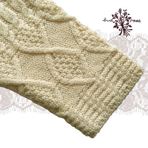 Maglia bud rose(マーリア バドローズ) 模様編みカーディガンの商品写真6