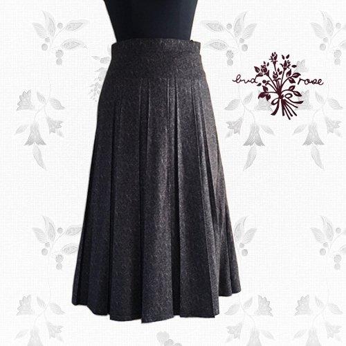Maglia bud rose(マーリア バドローズ) 起毛プリーツロングスカートの商品写真2