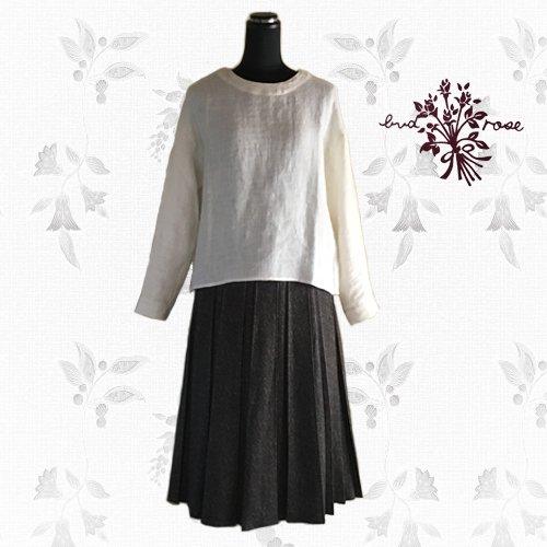 Maglia bud rose(マーリア バドローズ) 起毛プリーツロングスカートの商品写真3