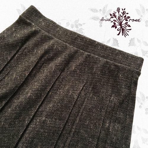 Maglia bud rose(マーリア バドローズ) 起毛プリーツロングスカートの商品写真4