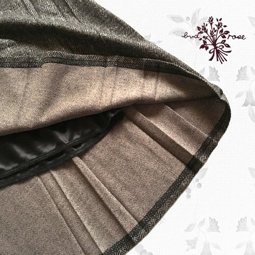 Maglia bud rose(マーリア バドローズ) 起毛プリーツロングスカートの商品写真5