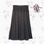 Maglia bud rose(マーリア バドローズ) 起毛プリーツロングスカート