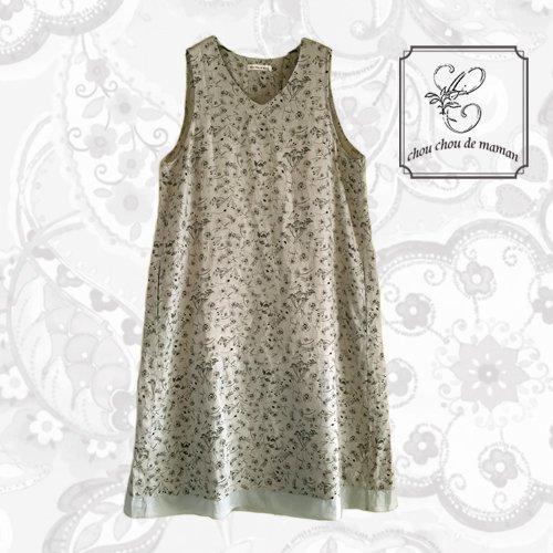 chou chou de maman(シュシュドママン)シャンプデフルール ドレスの商品写真です