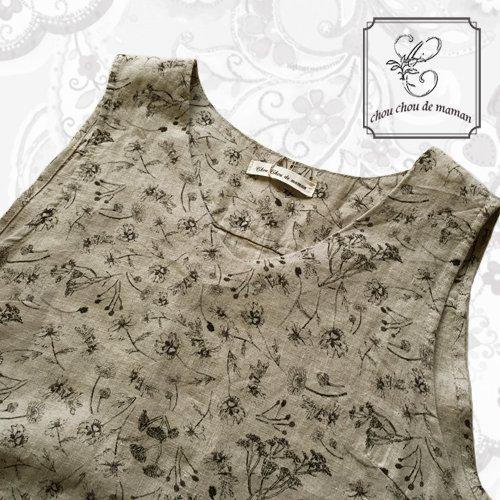 chou chou de maman(シュシュドママン)シャンプデフルール ドレスの商品写真4