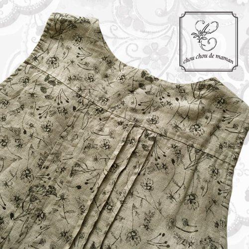 chou chou de maman(シュシュドママン)シャンプデフルール ドレスの商品写真6
