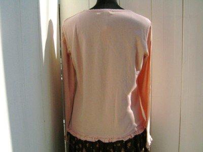 Lily Poem コットンTシャツの商品写真2