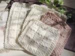 ゆきくまや 手編みマット