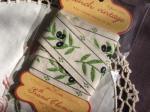 フランス製 刺繍リボン オリーブ