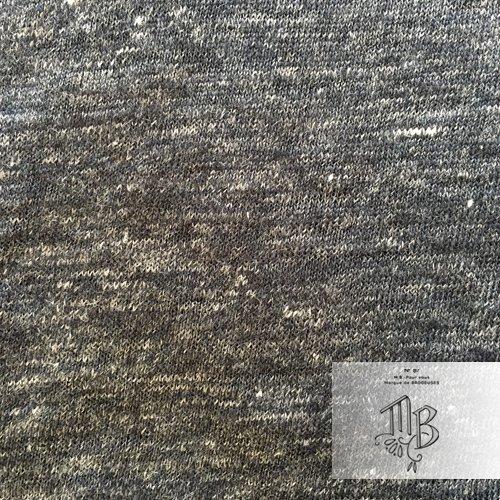 Marque de BRODEUSES(マルクドブロデュー) リネンプレーンジャージーチュニックの商品写真5