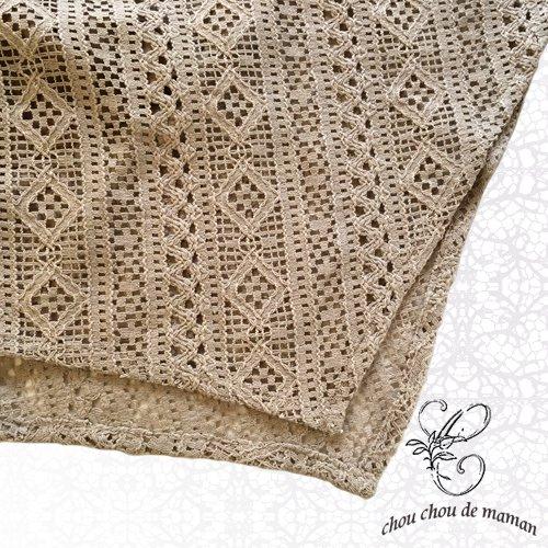 chou chou de maman(シュシュドママン)コットンレースキャミワンピースの商品写真5
