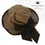 Arome de muguet(アロマドミュゲ、シュシュドママン) グログラン帽子