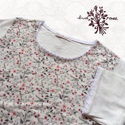 Maglia bud rose(マーリア バドローズ) 小花柄カットソーの商品写真4