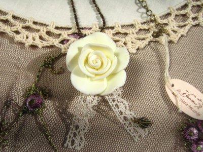 ティアラ(シュシュドママン) グランドローズ ネックレスの商品写真3