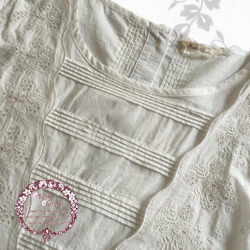 マシュカシュ(Mashu Kashu) 刺繍ブラウスの商品写真5