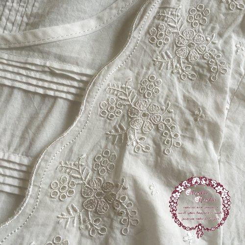 マシュカシュ(Mashu Kashu) 刺繍ブラウスの商品写真6