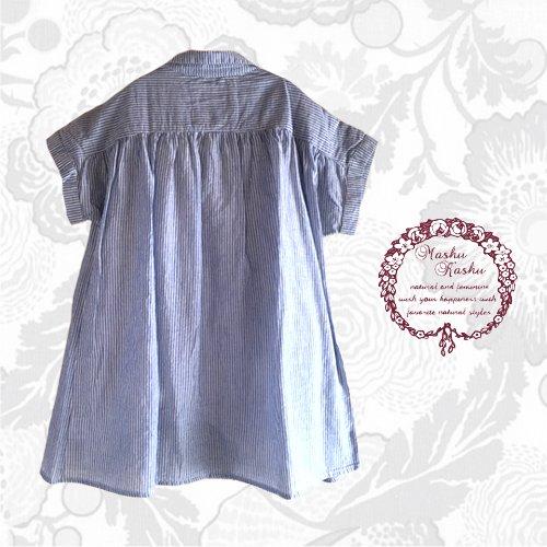 マシュカシュ(Mashu Kashu) コットンギャザーシャツの商品写真2