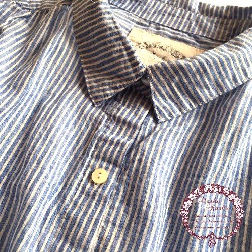マシュカシュ(Mashu Kashu) コットンギャザーシャツの商品写真5