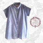 マシュカシュ(Mashu Kashu) コットンギャザーシャツ