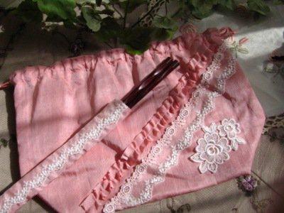 華集 Old-Rose お弁当袋 箸付きの商品写真3
