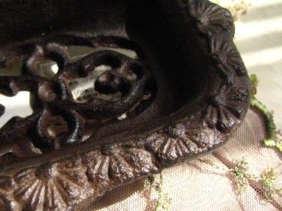 グランシュマン アイアン ソープディッシュ バラの商品写真3