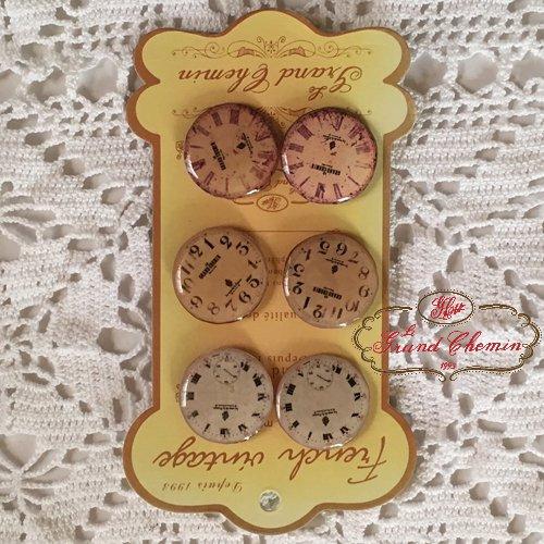 Le Grand Chemin(グランシュマン)ボタンシート 時計の商品写真です