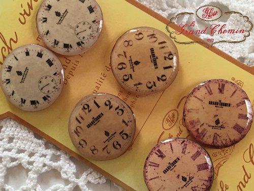 Le Grand Chemin(グランシュマン)ボタンシート 時計の商品写真2