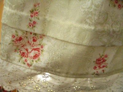 リリアンハウス フラワープリントスカート グリーンの商品写真3