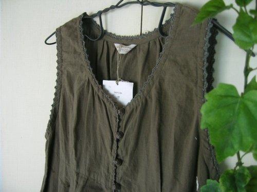 シュシュドママン chou chou de maman ヘムラー刺繍キャミソールの商品写真3