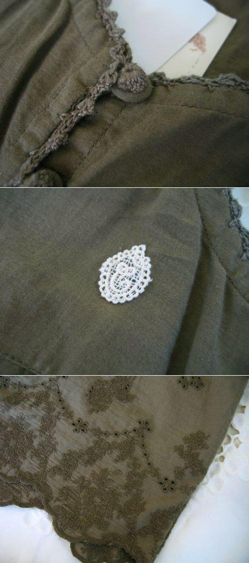 シュシュドママン chou chou de maman ヘムラー刺繍キャミソールの商品写真4