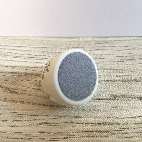 マニー うさぎ 陶器 メモスタンド丸の商品写真4