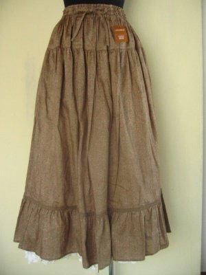 リリアンハウス(LILYAN HOUSE) 小花ベージュスカートの商品写真2