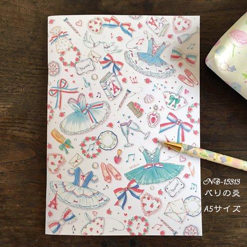Clothes-Pin(クローズピン) たけいみきシリーズ A5ノートの商品写真2