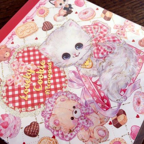 Clothes-Pin(クローズピン) 飴ノ森ふみかシリーズ メモパッド ラブリークッキーの商品写真3
