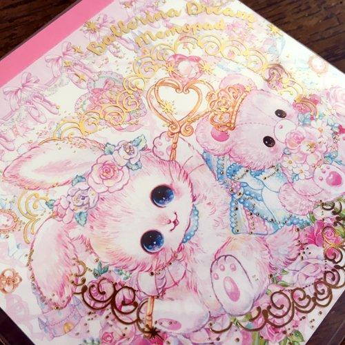 Clothes-Pin(クローズピン) 飴ノ森ふみかシリーズ メモパッド バレリーナドリームの商品写真3
